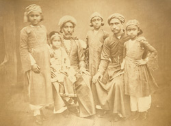 Persian group, Bombay.